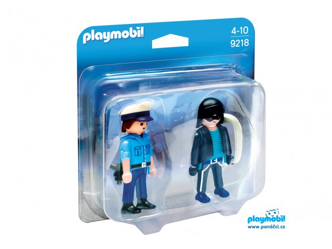 Playmobil 9218 Duo Pack Policista a zloděj