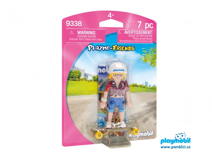 Playmobil 9338 Skateboardistka