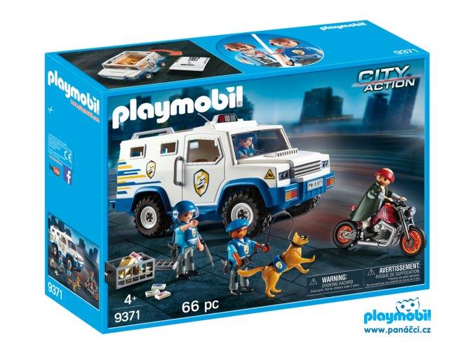 Playmobil 9371 Přeprava peněz