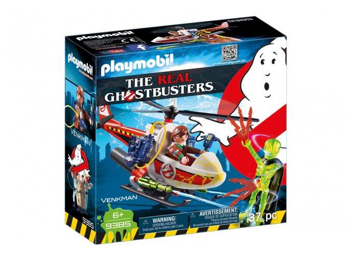 Playmobil 9385 Venkman s helikoptérou