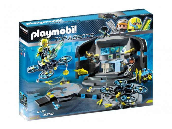 Playmobil 9250 Řídící středisko dr. Drona
