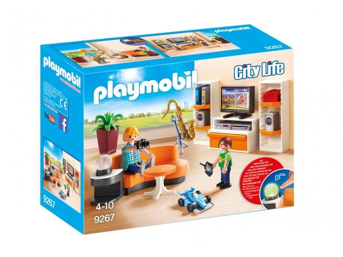 Playmobil 9267 Obývací pokoj