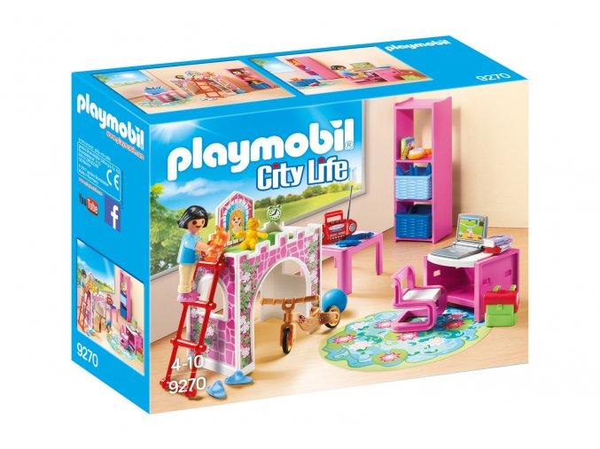 Playmobil 9270 Dětský pokoj