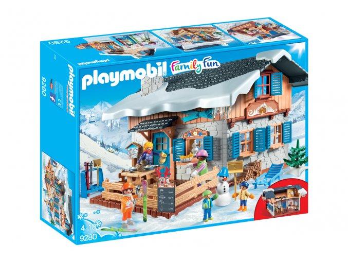 Playmobil 9280 Lyžařská chata