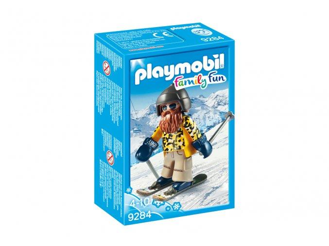 Playmobil 9284 Lyžař na lyžích