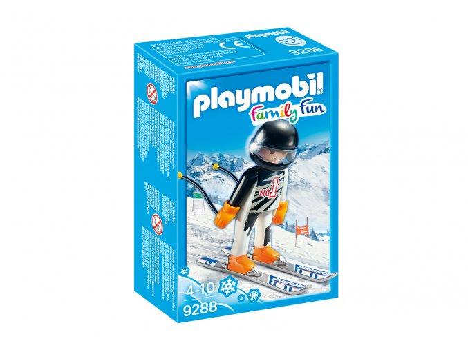 Playmobil 9288 Lyžař na sjezdových lyžích