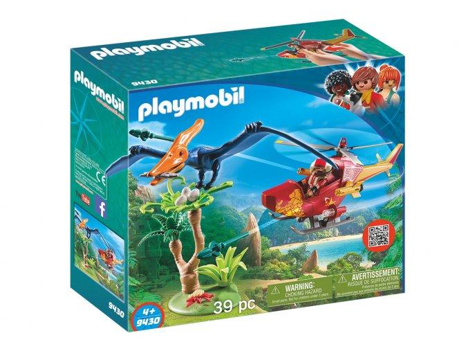 Playmobil 9430 Helikoptéra s ptakoještěrem
