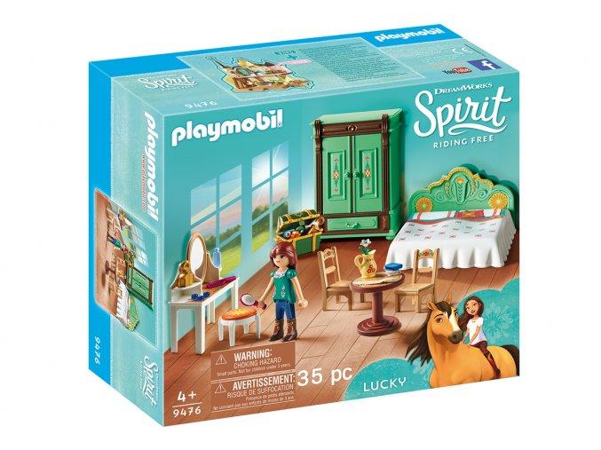 Playmobil 9476 Ložnice pro Lucky