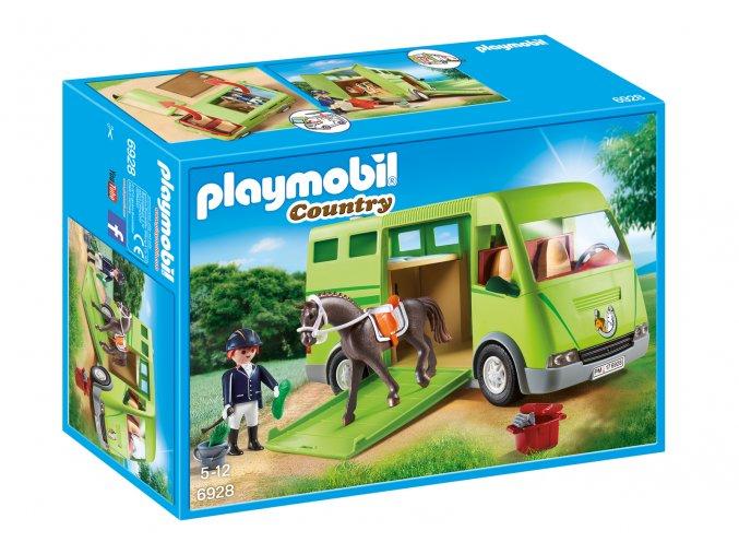 Playmobil 6928 Kamión pro přepravu koní