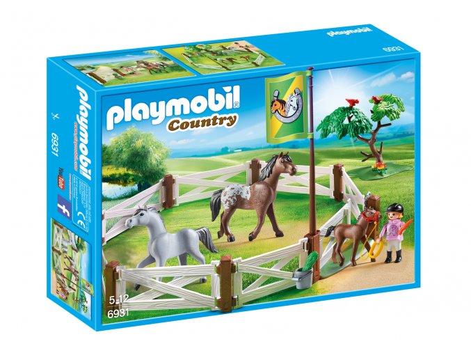 Playmobil 6931 Stáj pro koně