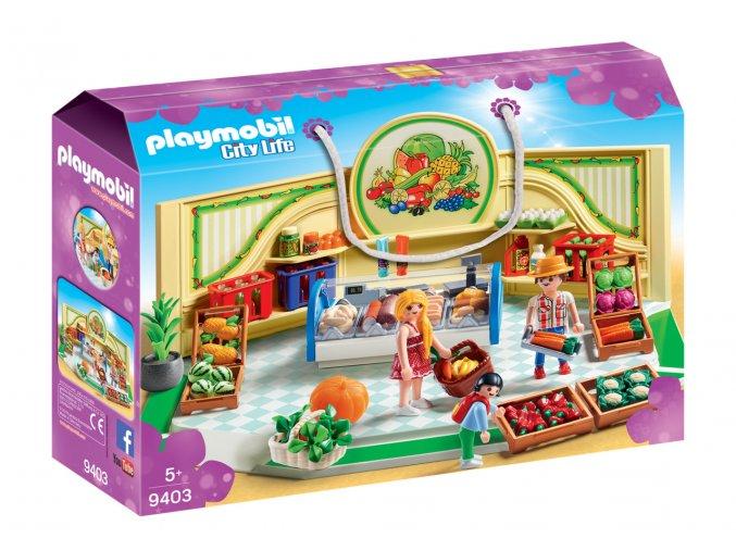 Playmobil 9403 Obchod s potravinami
