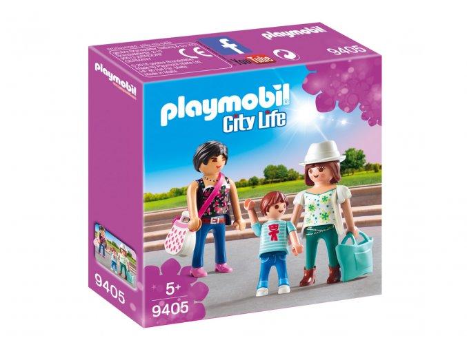 Playmobil 9405 Dívky na nákupu