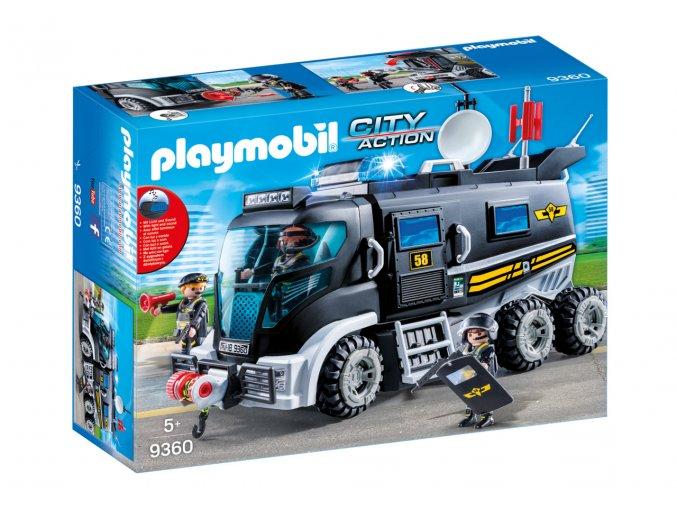Playmobil 9360 Nákladní vozidlo speciální jednotky