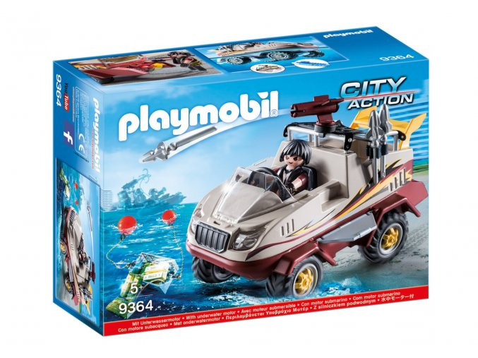 Playmobil 9364 Obojživelné vozidlo