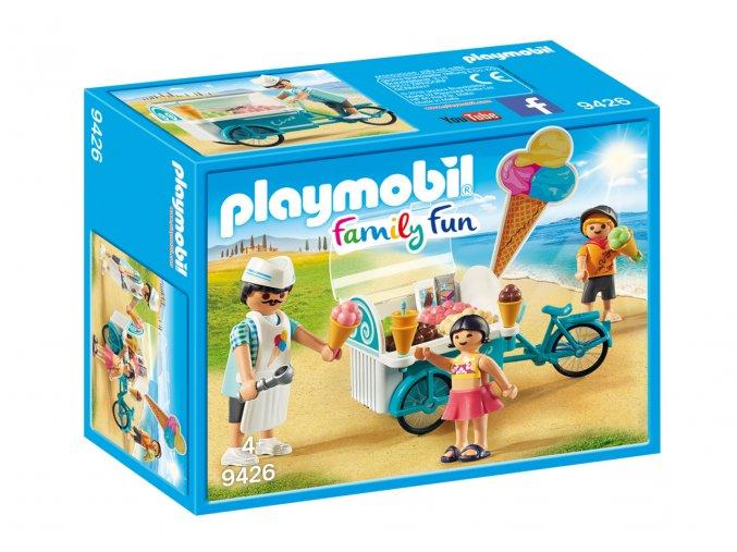 Playmobil 9426 Zmrzlinářský vozík