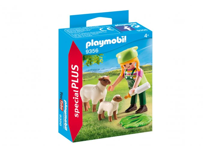 Playmobil 9356 Farmářka s ovečkami