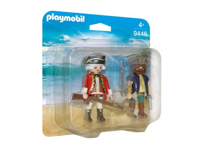 Playmobil 9446 Duo Pack Pirát a voják