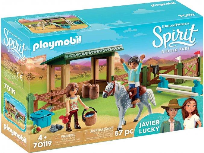 Playmobil 70119 Jízdárna s Lucky & Javier