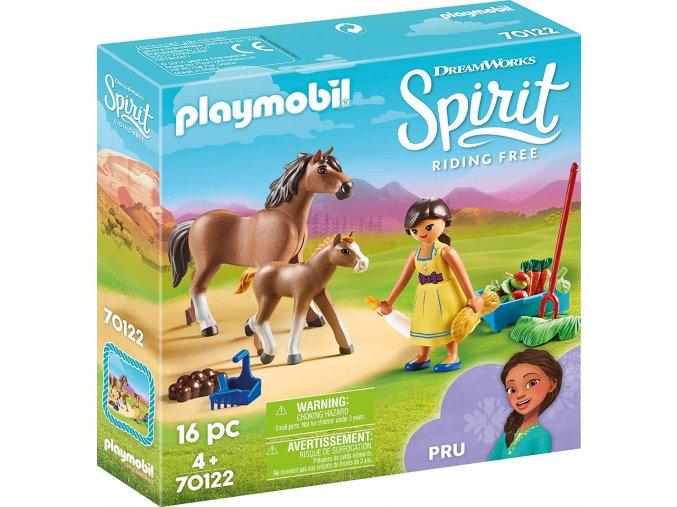 Playmobil 70122 Próza s koněm a hříbětem