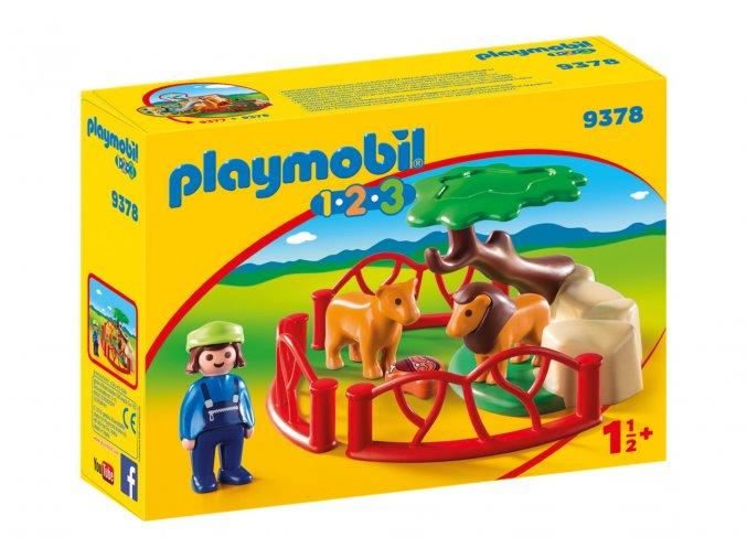 Playmobil 9378 Výběh pro lvy