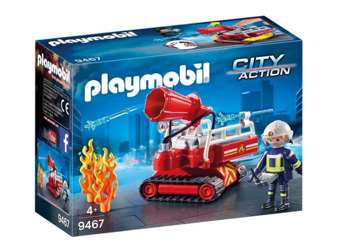 Playmobil 9467 Hasičské robotické vodní dělo
