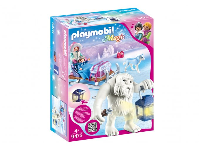 Playmobil 9473 Sněžný trol se sáňkami