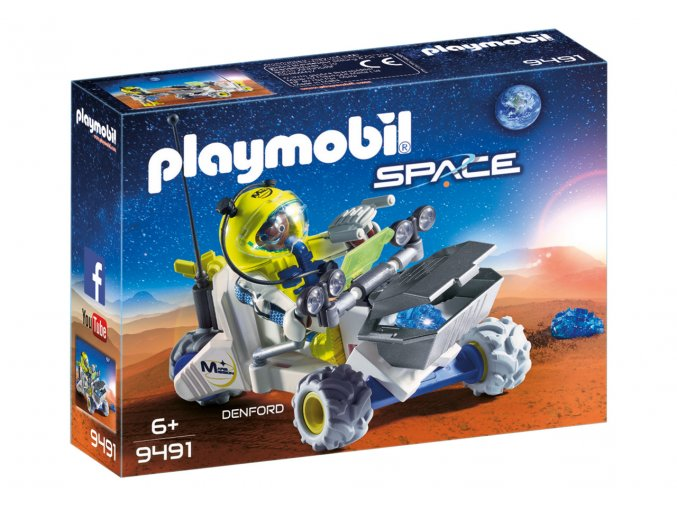 Playmobil 9491 Mars - tříkolka