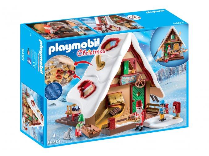 Playmobil 9493 Vánoční pekárna s formičkami na pečení