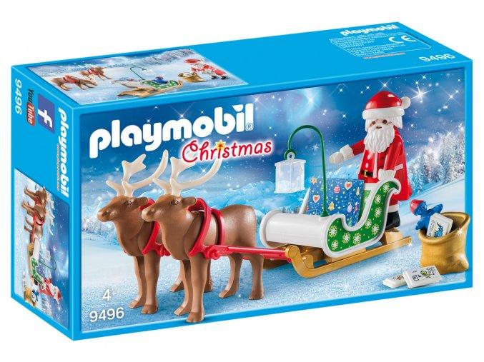 Playmobil 9496 Santovy sobí saně