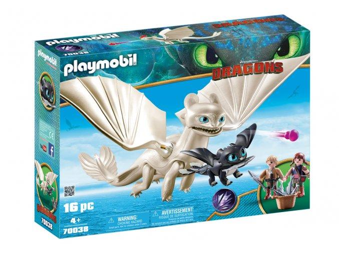Playmobil 70038 Bleskoběska a dráče s dětmi