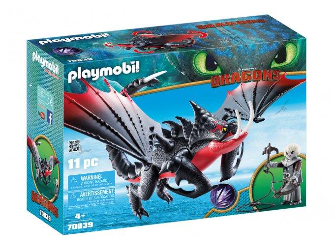Playmobil 70039 Jedosmrťák a Grimmel