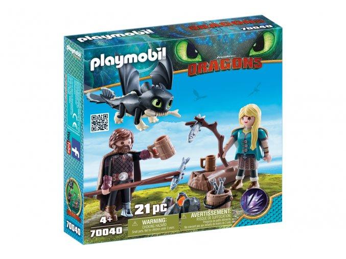 Playmobil 70040 Škyťák a Astrid s dráčetem