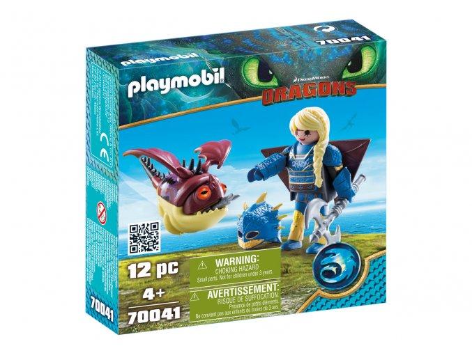 Playmobil 70041 Astrid v létacím plášti a Trnožrout