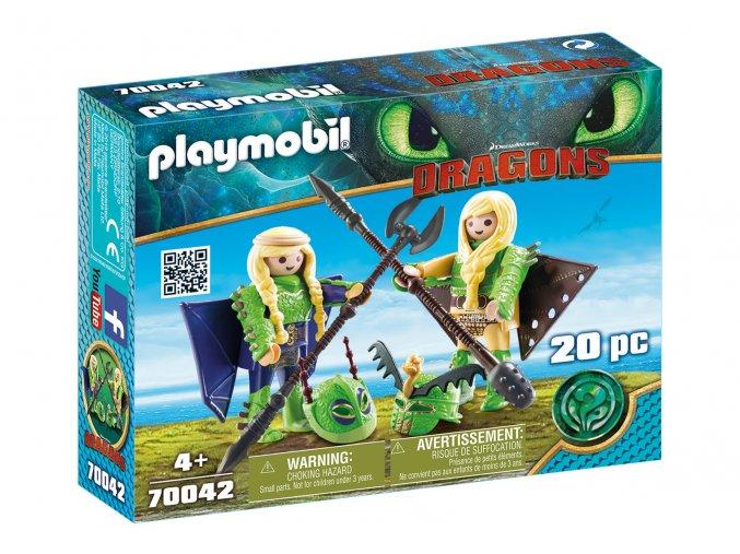 Playmobil 70042 Rafana a Ťafan v létacím plášti