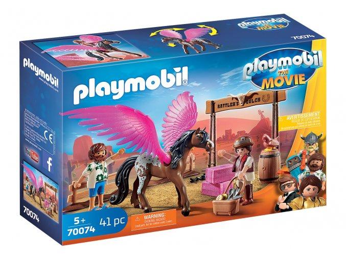 PLAYMOBIL: THE MOVIE Marla, Del a kůň s křídly 70074