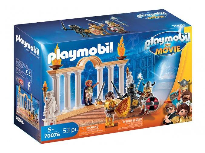 PLAYMOBIL: THE MOVIE Císař Maximus v Koloseu 70076