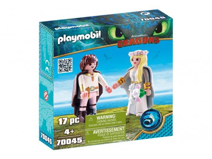 Playmobil 70045 Svatba Astrid a Škyťáka
