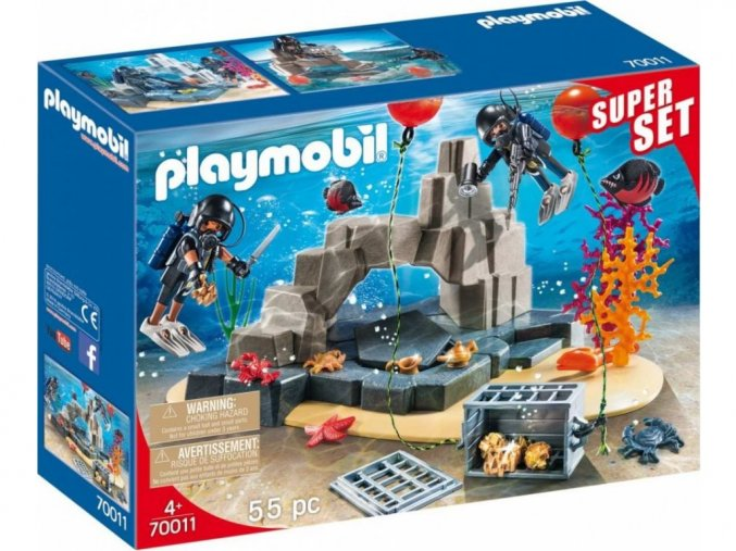 Playmobil 70011 SuperSet Potápěčská jednotka