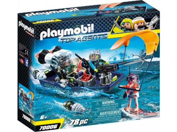 Playmobil 70006 TEAM S.H.A.R.K. Loď s harpunou