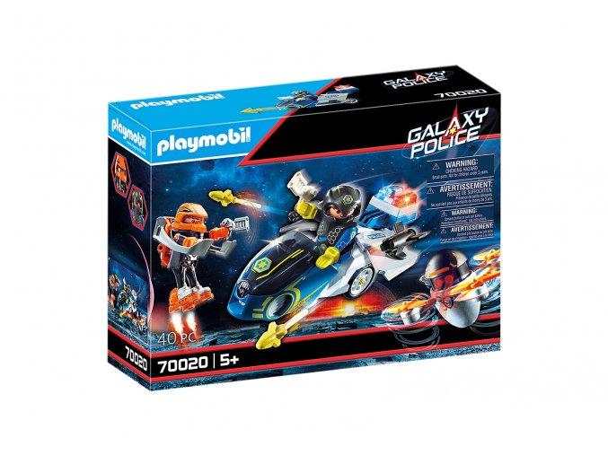 Playmobil 70020 Vesmírná policie - Motorka