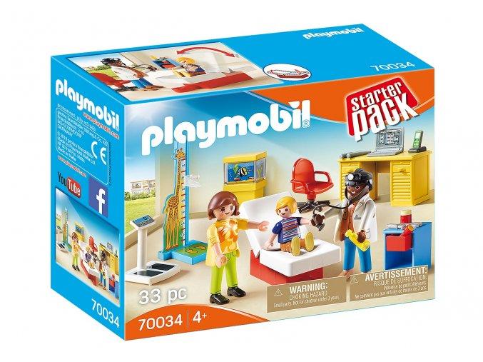 Playmobil 70034 StarterPack Ordinace pediatra