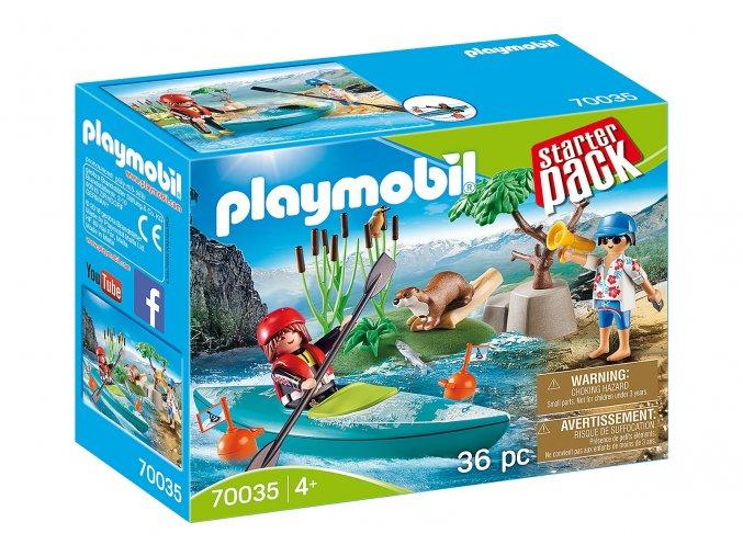 Playmobil 70035 StarterPack Dobrodružství na kajaku
