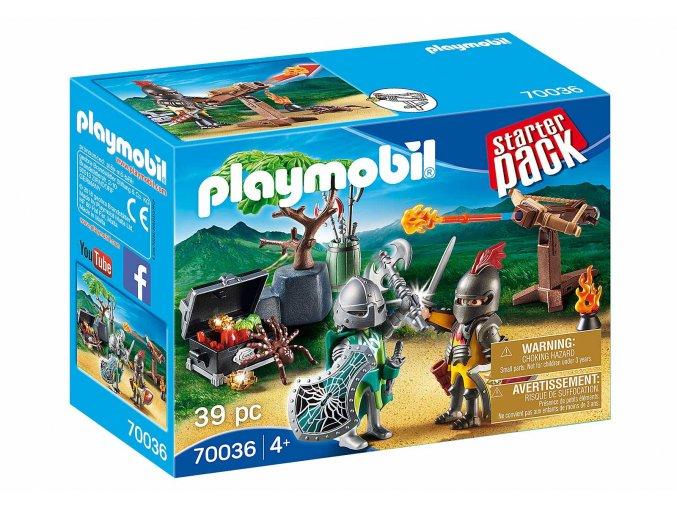 Playmobil 70036 StarterPack Boj o poklad rytířů