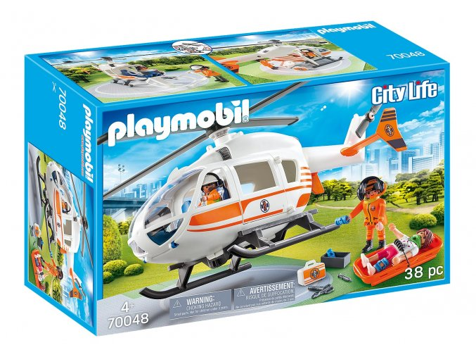 Playmobil 70048 Záchranářská helikoptéra