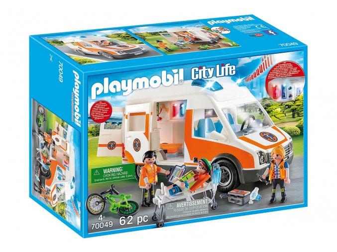 Playmobil 70049 Ambulance se světly