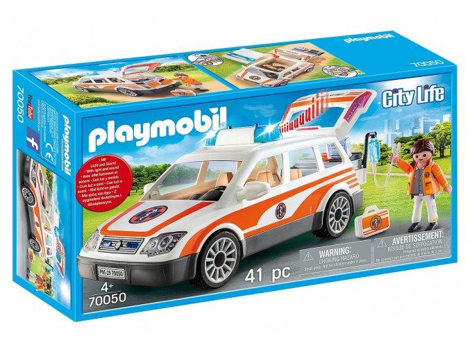 Playmobil 70050 Pohotovost se sirénou