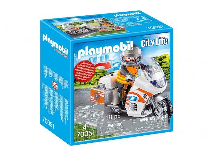 Playmobil 70051 Záchranářský motocykl