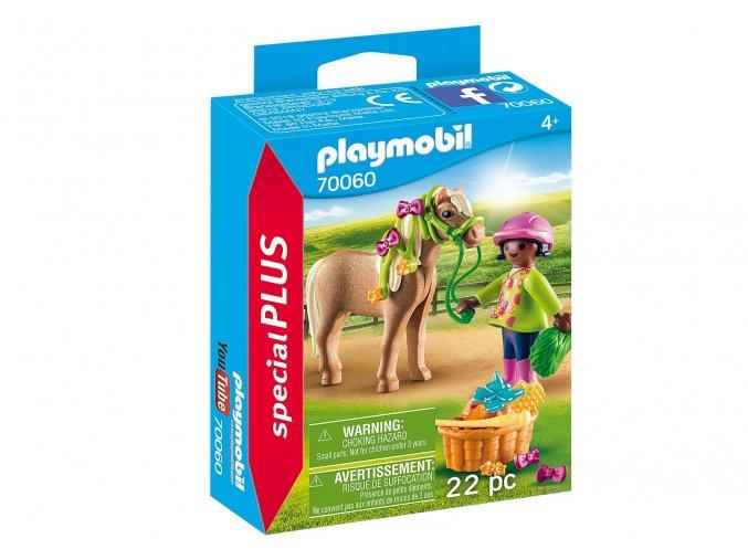 Playmobil 70060 Dívka s poníkem