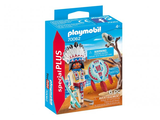 Playmobil 70062 Indiánský náčelník