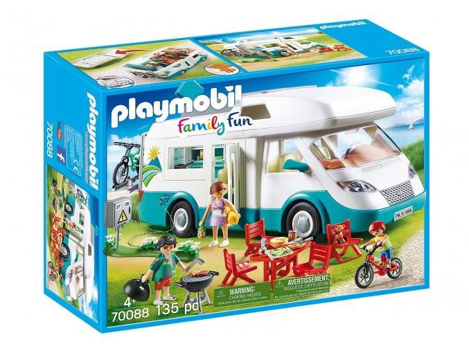 Playmobil 70088 Rodinný karavan